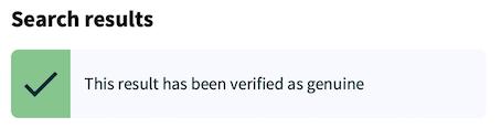 Linguaskill Results Verification Service 2