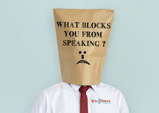 What blocks you from speaking ?