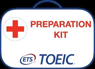 TOEIC préparation kit