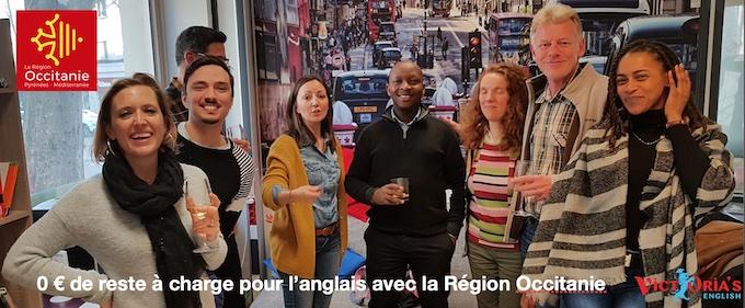 Pas de reste à charge pour l'anglais avec la Région Occitanie