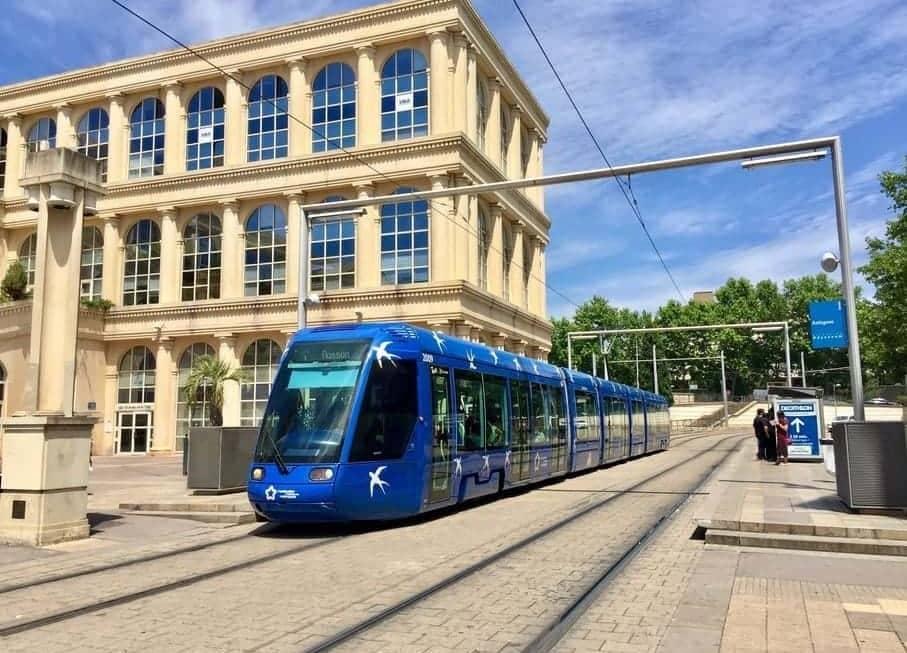 Tramway à Antigone