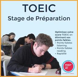 Stages de Préparation TOEIC