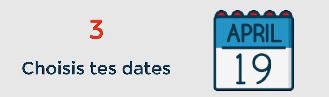 Dates des cours d'anglais en groupe