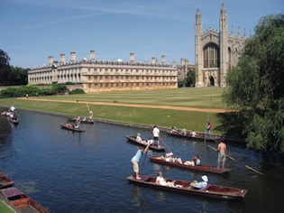 Université de Cambridge, partenaire de Victoria's English