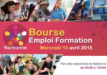 Bourse Emploi Formation Narbonne 2015
