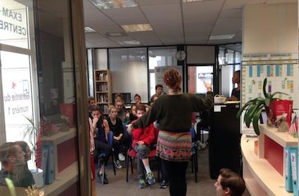 Stage d'anglais jeunes à Montpellier