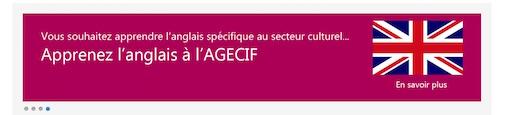 Cours anglais AGECIF à Paris