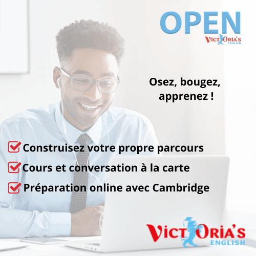 Cours d'Anglais Officiels Cambridge (groupe) - Inscriptions CPF