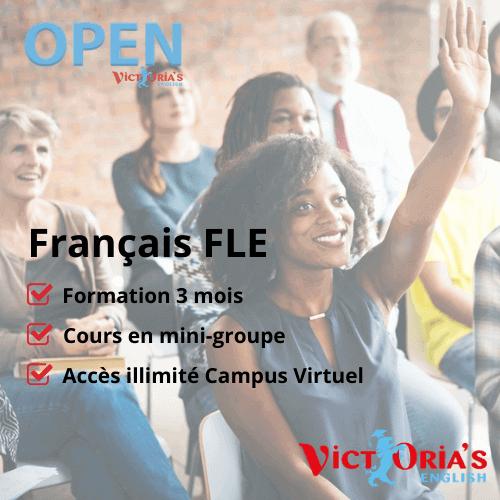 Cours de Français FLE  (illimités, groupes) - Inscriptions CPF