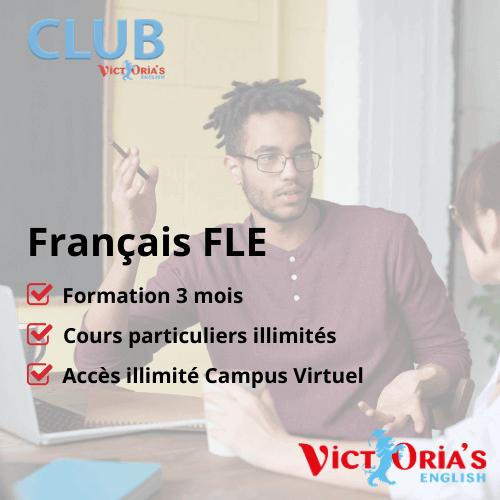 Cours de Français FLE  (illimité, individuel) - Inscriptions CPF