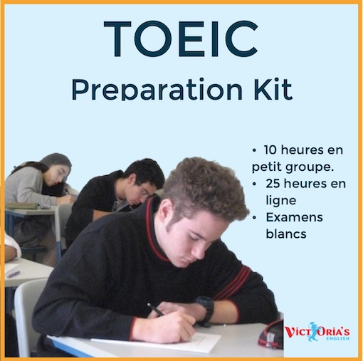 TOEIC Preparation Kit (prof + online) - Autres stages d'anglais