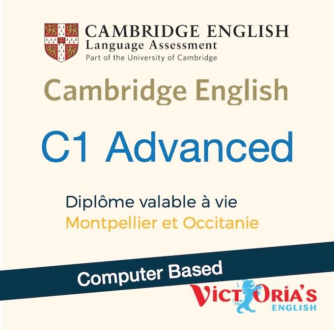 Cambridge C1 ADVANCED (Computer based) - Examens et Certifications