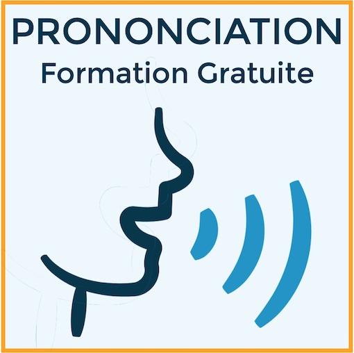 Prononciation de l'anglais, formation gratuite