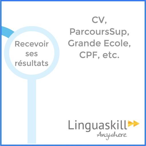 Inscriptions Linguaskill 13