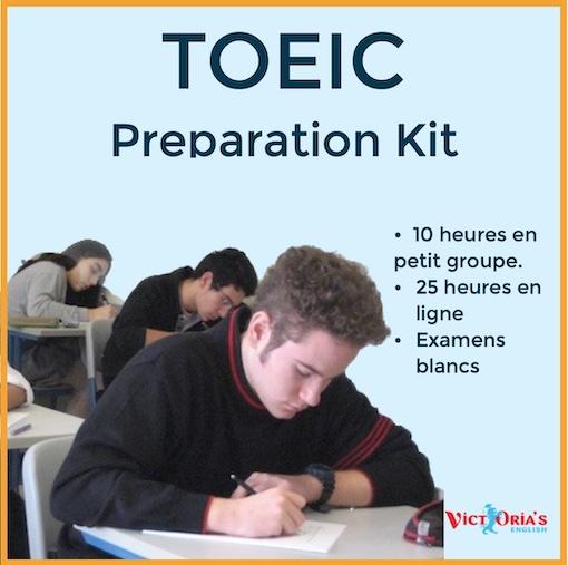 Préparation kit Toeic